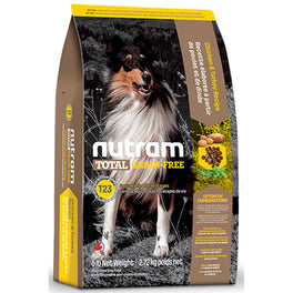 Nutram T23 Total Grain-Free Chicken & Turkey Recipe Dry Dog Food 6lb