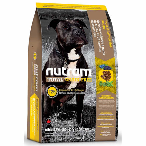 Nutram T25 Total Grain-Free Trout & Salmon Meal Recipe Dry Dog Food - Kohepets