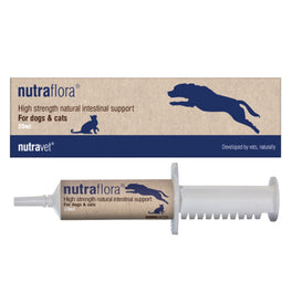 Nutravet Nutraflora Intestinal Support Supplement For Cats & Dogs 20ml
