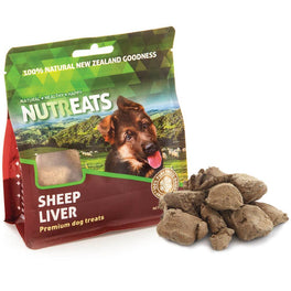 Nutreats Sheep Liver Dog Treats 50g