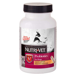 10% OFF: Nutri-Vet Probiotics Capsules for Dogs 60 Ct