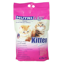 Nutriedge Super Premium Holistic Chicken & Rice Kitten Dry Cat Food
