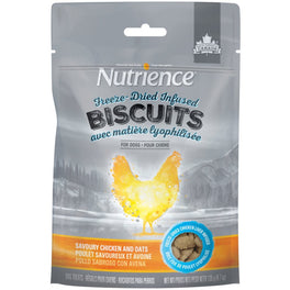Nutrience Freeze-Dried Infused Biscuits Savoury Chicken & Oats Dog Treats 135g
