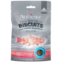 Nutrience Freeze-Dried Infused Biscuits Succulent Salmon & Sesame Dog Treats 135g