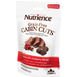 Nutrience Grain Free Cabin Cuts Venison With Cranberry Dog Treats 170g