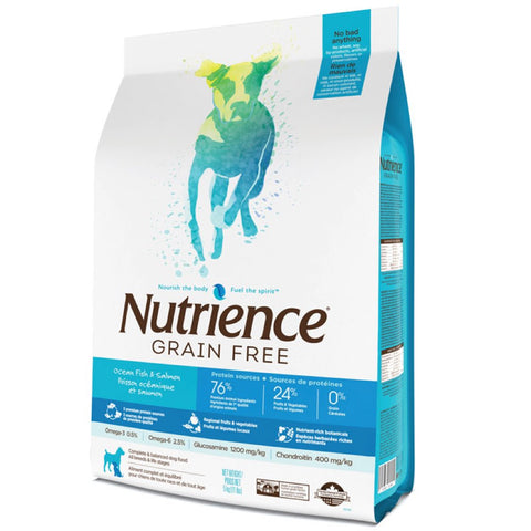 SAVE UP TO $16: Nutrience Grain Free Ocean Fish Formula Dry Dog Food