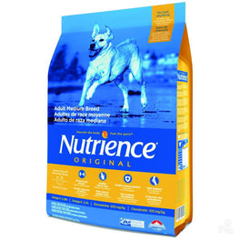 Nutrience Original Healthy Medium Breed Adult Chicken Meal With Brown Rice Dry Dog Food 13.6kg