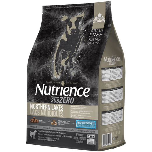 SAVE UP TO $14: Nutrience Subzero Northern Lakes Formula Grain Free Dry Dog Food