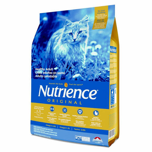 Nutrience Original Healthy Adult Chicken Meal With Brown Rice Recipe Dry Cat Food 2.5kg - Kohepets