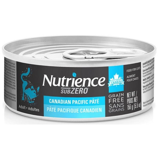 Nutrience Subzero Canadian Pacific Pate Grain Free Canned Cat Food 156g