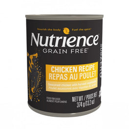 Nutrience Subzero Chicken Recipe Grain Free Canned Dog Food 374g