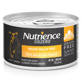 Nutrience Subzero Fraser Valley Pate Grain Free Canned Dog Food 170g