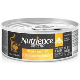 Nutrience Subzero Fraser Valley Pate Grain Free Canned Cat Food 156g