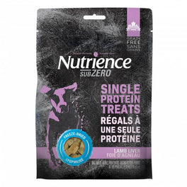 $10 OFF: Nutrience Subzero Single Protein Treats Lamb Liver Grain Free Dog Treats 90g (Exp 5 Apr 19)