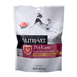10% OFF: Nutri-Vet Pet-Ease Calming Soft Chews for Dogs 70 Chews