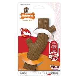 Nylabone DuraChew Power Chew Hollow Stick Dog Toy - Wolf