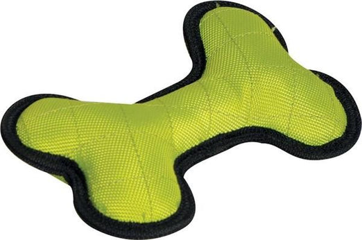 Dogit Tuff Luvz Nylon Bone Lime Dog Toy - Kohepets
