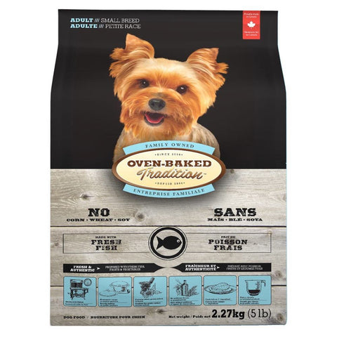 Oven-Baked Tradition Fish Small Bites Adult Dry Dog Food - Kohepets