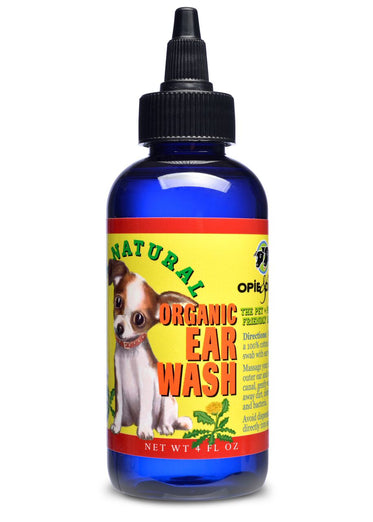 Opie & Dixie Organic Ear Wash For Dogs 4oz - Kohepets
