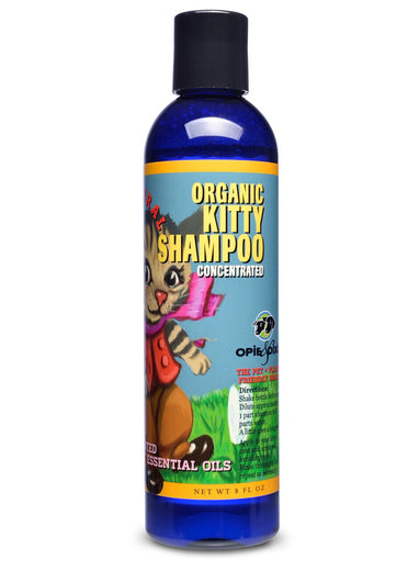 60% OFF: Opie & Dixie Organic Kitty Shampoo 8oz (Exp May 19)