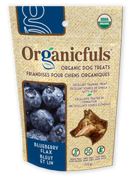 Organicfuls Blueberry Flax Organic Dog Treats 113g