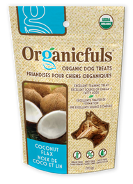 Organicfuls Coconut Flax Organic Dog Treats 113g