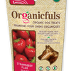 Organicfuls Strawberry Flax Organic Dog Treats 113g - Kohepets