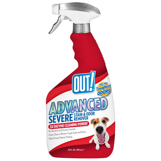 OUT! Advanced Severe Stain & Odor Remove Spray For Pets 945ml - Kohepets