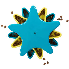 Outward Hound Star Spinner Treat-Hiding Puzzle Dog Toy