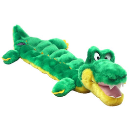 20% OFF: Outward Hound Squeaker Matz Gator Dog Toy
