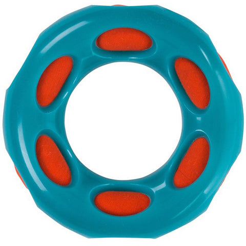 20% OFF: Outward Hound Splash Bombz Ring Rubber Dog Toy, Blue