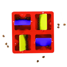Outward Hound Tic Tac Twirl Puzzle Dog Toy