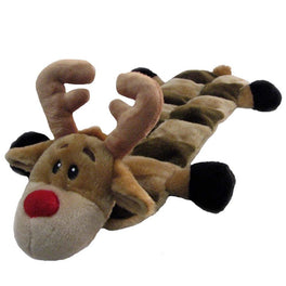Outward Hound Holiday X'mas Squeaker Matz Reindeer Dog Toy