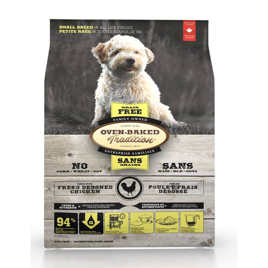 Oven-Baked Tradition Grain Free Chicken Small Bites Dry Dog Food 5lb