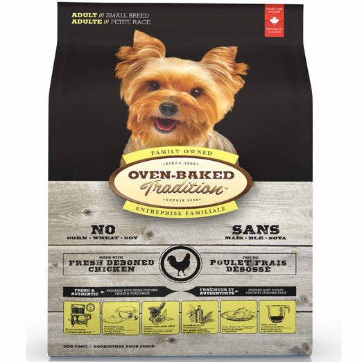 Oven-Baked Tradition Adult Chicken Small Breed Dry Dog Food - Kohepets