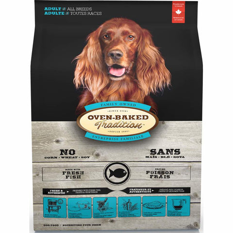 10% OFF 12.5lb (Exp 20 Jun): Oven-Baked Tradition Fish Adult Dry Dog Food - Kohepets