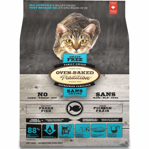 Oven-Baked Tradition Fish Grain Free Dry Cat Food - Kohepets