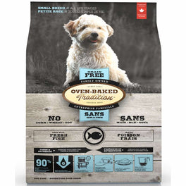 Oven-Baked Tradition Grain Free Fish Small Breed Dry Dog Food 5lb