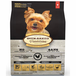 Oven-Baked Tradition Senior & Weight Control Small Breed Dry Dog Food