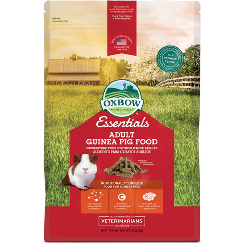 20% OFF: Oxbow Essentials Adult Guinea Pig Food 10lb