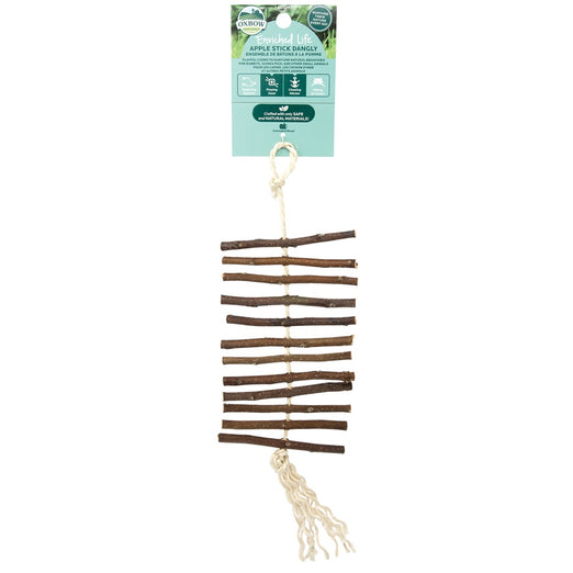Oxbow Enriched Life Apple Stick Dangly For Small Animals
