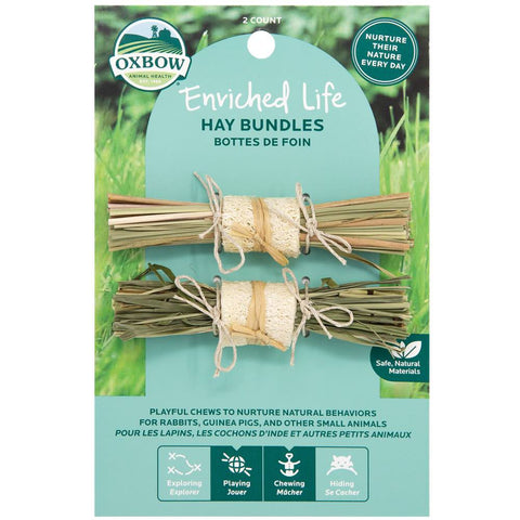 Oxbow Enriched Life Hay Bundles For Small Animals - Kohepets