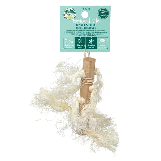 $2 OFF: Oxbow Enriched Life Knot Stick For Small Animals - Kohepets