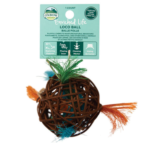 Oxbow Enriched Life Loco Ball For Small Animals - Kohepets