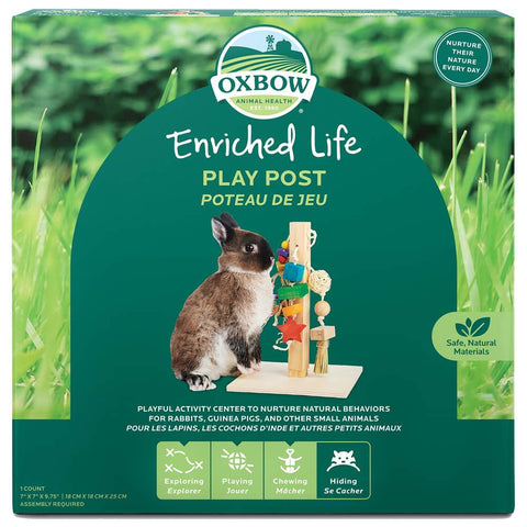 Oxbow Enriched Life Play Post For Small Animals - Kohepets