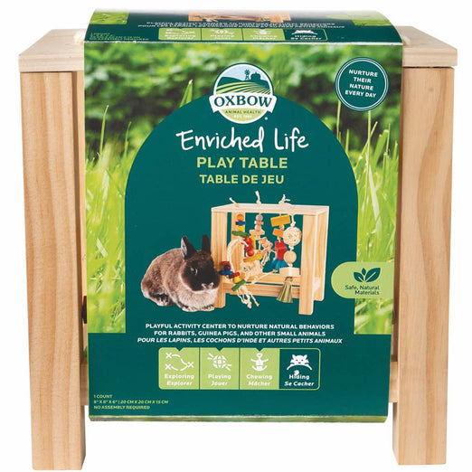 Oxbow Enriched Life Play Table For Small Animals - Kohepets