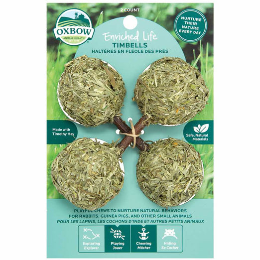 Oxbow Enriched Life Timbells For Small Animals - Kohepets