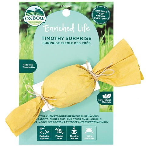 Oxbow Enriched Life Timothy Surprise For Small Animals - Kohepets