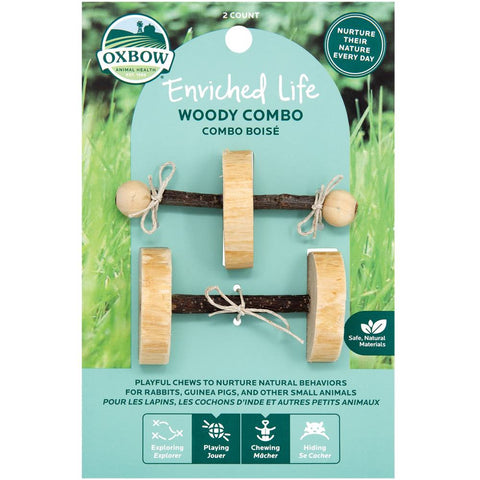 Oxbow Enriched Life Woody Combo For Small Animals - Kohepets