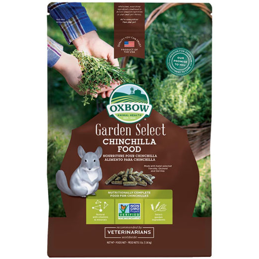 Oxbow Garden Select Chinchilla Food 3lb
